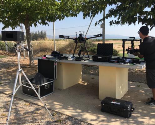 filmaciones aereas con drones