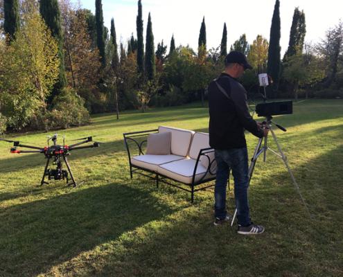 grabaciones con drones para television y publicidad