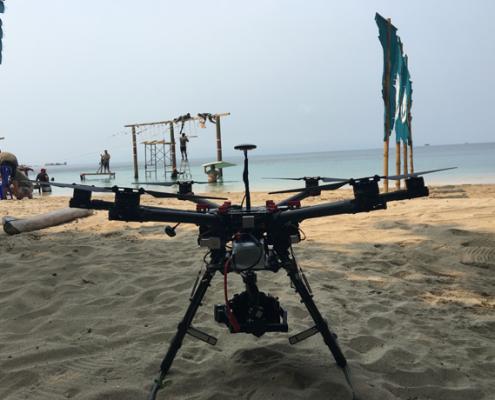 grabaciones aéreas con drones para televisión